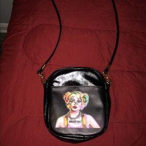 Harley Quinn Birds of Prey purse.